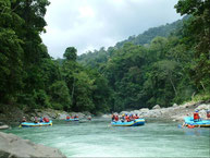 Rafting Pacuare River from Arenal