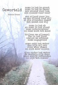 Gedicht Geworteld - Weduwe in Opleiding - Sascha Groen