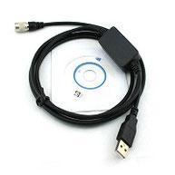 Cable usb transferencia estacion total nikon{