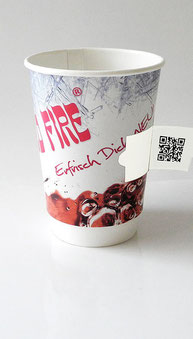 Coupon Cup QR Code