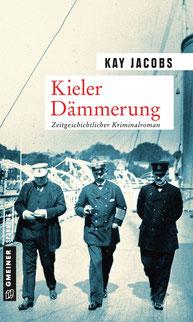 Das Cover zeigt Bernhard von Bülow, Wilhelm II. und Rudolf von Valentini (von links nach rechts) an Bord der SMY Hohenzollern in Kiel, 1908.