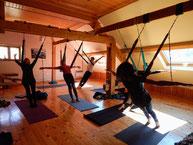 stage yoga aérien -fly yoga- www.jyoti-yogi.com