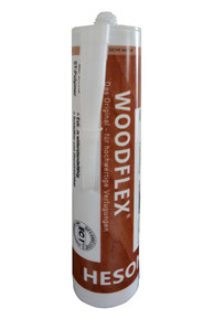 HESON WOODFLEX Fugendichtstoff- Kartusche 0,45 kg - S. Fischbacher Living