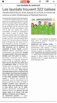 Ouest France du 15 juin 2015