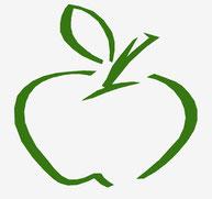 Logo Apfel klein - Obst- und Gartenbauverein Bad Sobernheim e.V.