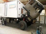 Allrad LKW Wohnmobil Ausbau Expeditionsmobil Steyr