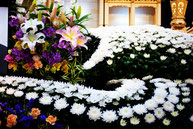 葬儀のイメージ 花3