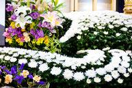 葬儀のイメージ 花2