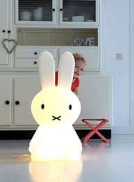Details Stehlampe Miffy XL