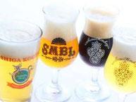 常時、樽生志賀高原ビールを4種ご用意しております。