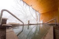冬の寒さも温泉でポカポカ(=゚ω゚)