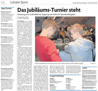 Presseartikel der Emder Zeitung