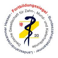 zahnarztpraxis-carina-sell-giessen-fortbildungssiegel-2020