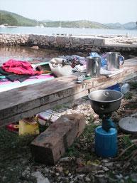 BDC (Baterie De Cuisine)  : Cuisiner et dormir au sec, deux nécessités pour une itinérance réussie