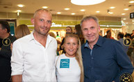 Julia Mayer Hair Trader Roma Friseurbedarf Roland Bürger Valentin Bayer Friseur Donau Zentrum Wien Soft Opening