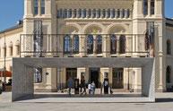 Rührreibgeschweißtes Aluminium-Eingangsvordach am Nobel-Friedenszentrum