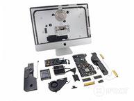 Friction stir welded Apple iMac 2012 parts