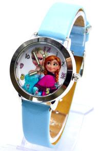 montre enfant bleue princesse reine des neiges