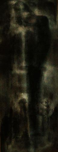 Fatal Morgana, Acryl auf Hartfaser, 103x40, 2014