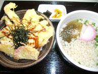 チキ丸セット(うどん半玉)