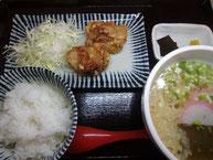 ミニからセット(うどん半玉)