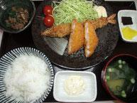 大海老フライ定食(1本)