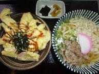 チキ丸セット(うどん一玉)