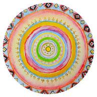 Mandala jede Krise birgt ein Geschenk