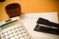 Taschenrechner und Postitch