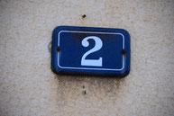 Hausnummer Büroadresse