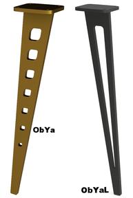 pied de meuble Design en métal