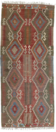 Kelim Teppich. Zürich. Afyon Kelim, antique and nomad rug, tapis et kilims nomades, kilim Bergama, rose, vert. Zurich Suisse, www.kilimmesoftly.ch