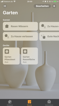 Apple HomeKit, Bewässerung HomeKit, Gartenbewässerung, Steuerung Apple HomeKit