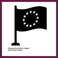 europe by ©Adrien Coquet from the Noun Project https://thenounproject.com/search/?q=european&i=2518841