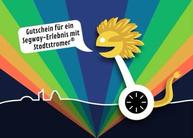 """Segway-Gutschein Leipzig - Motiv """"Erlebnis"""""""
