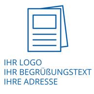 Individualisierte Bücher Leichte Sprache eigenes Logo
