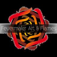 Feuermaler Art & Flames Logo