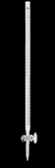 Bureta recta línea TEKK con llave de vidrio 17030K