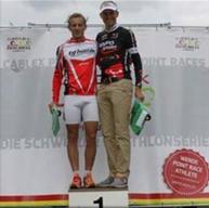Andy Kälin Platz 2 mit Sieger Marc Widmer.