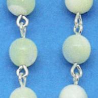 rosari argento madreperla