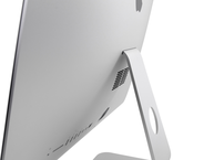 Rührreibgeschweißter Apple iMac 21, 2012 von hinten