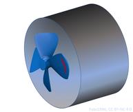 PropStir inspiriert durch RC Ship propeller vonFabs1986, 8. Juli 2018, CC BY-NC 4.0