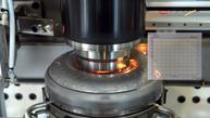 Vertikalreibschweißmaschine von U-Jin Tech Corp