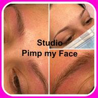 Diamant Nano Blading - Nano Blading Norderstedt - Studio Pimp my Face - Stefanie Lopez - Härchentechnik - Härchenzeichnung - Permanent Make Up - Microblading - Eyebrows - Schulungen - Augenbrauen  - Weiterbildung