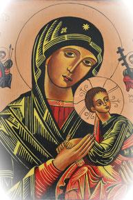 神の母聖マリア