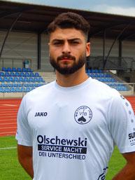 Hazar Türkü erzielte seine Saisontreffer neun und zehn.