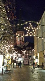 Weihnachtlich-festliche Stimmung im Nicolaiviertel