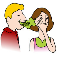 Bad breath is a sign of gum disease.