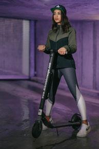 escooter segway ninebot es2 + zusatzakku = ES4 über 30kmh max. Vollgefedert