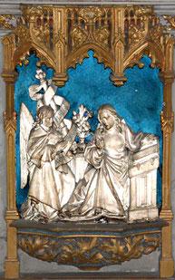 Bas-relief de l'autel de la Vierge- Eglise Saint-Rémi- Amiens